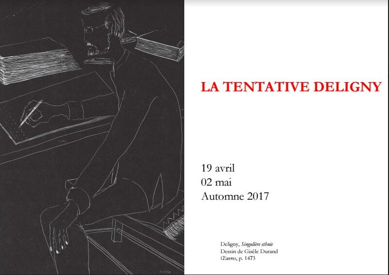 La Tentative Deligny – 2 mai 2017, CND, Pantin