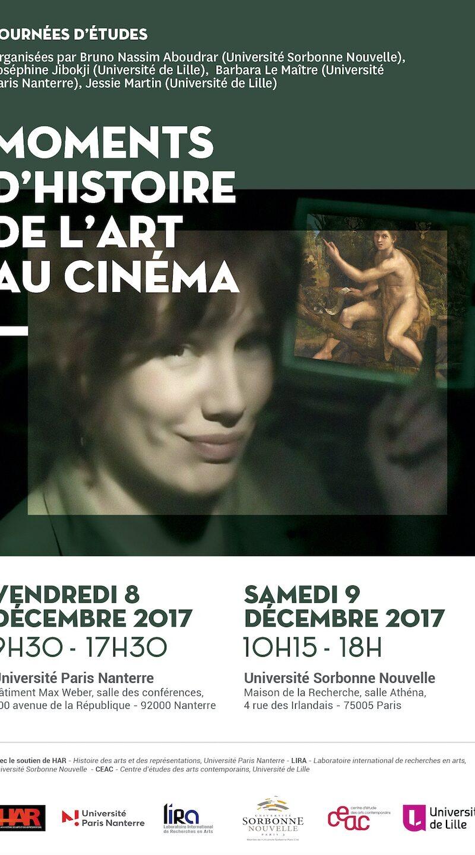 Moments d'histoire de l'art au cinéma
