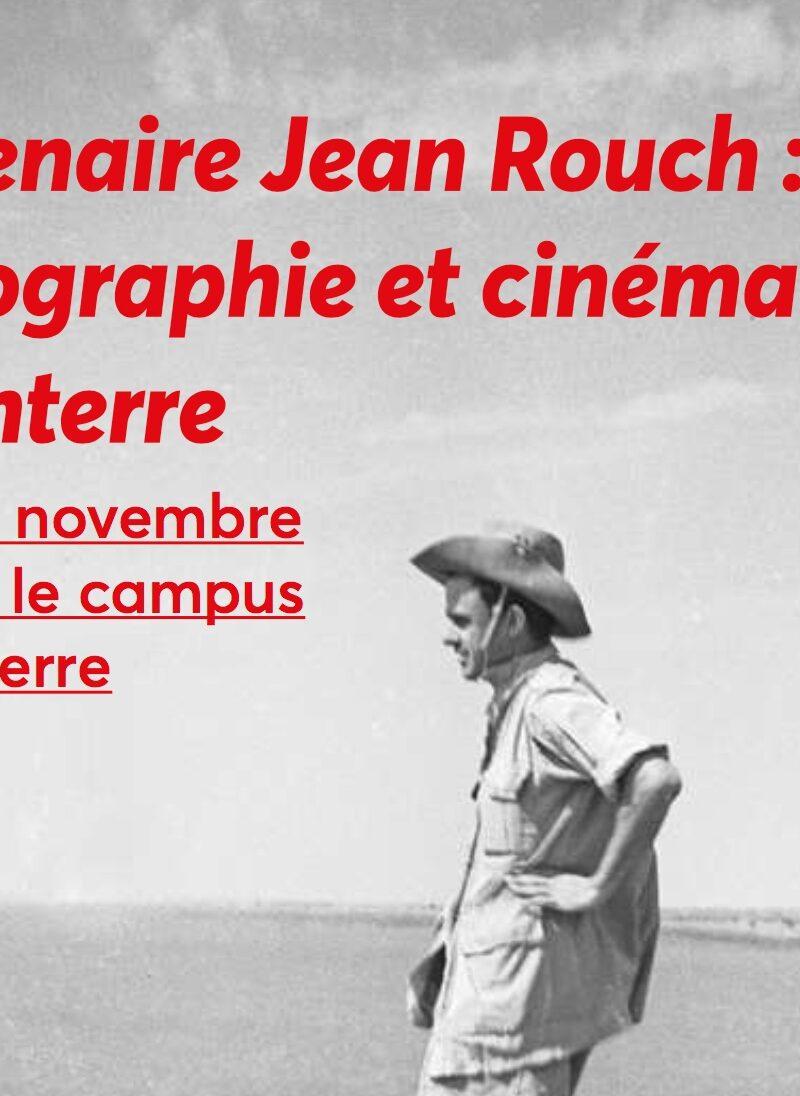 Centenaire Jean Rouch