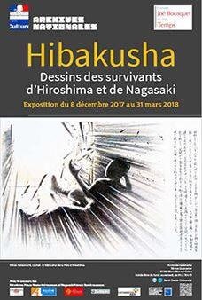 Hibakusha. Dessins des survivants d'Hiroshima et de Nagasaki  Du 8 décembre 2017 au 31 mars 2018