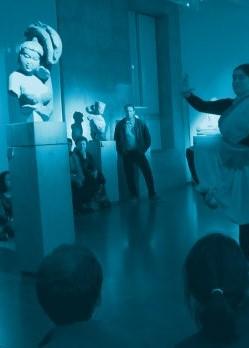 La performance théâtrale au musée