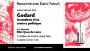 Godard, Inventions d'un cinéma politique – 31 janvier 2019, 19h, MK2 Quai de Loire