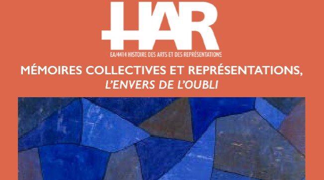 Séminaire des doctorants et jeunes docteurs du HAR / L'envers de l'oubli, 5 juin 2019
