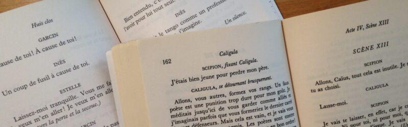 Appel à communications / Colloque Entre logos et engagement. Le théâtre d'Albert Camus et de Jean-Paul Sartre, 4-6 novembre 2020