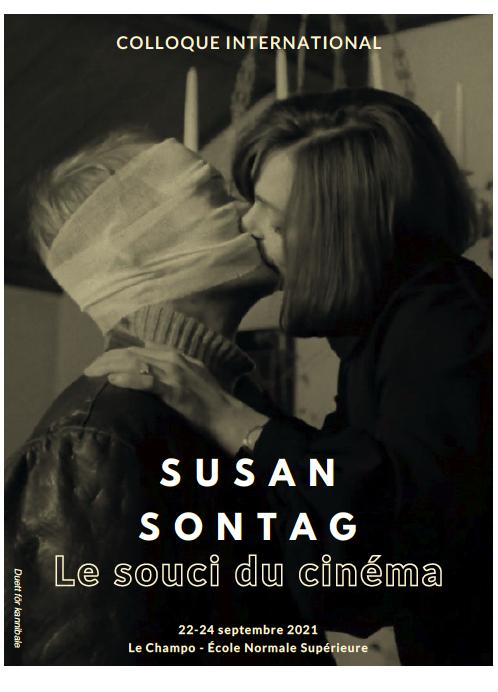 Colloque international / Susan Sontag, le souci du cinéma, 22-24 septembre 2021, Paris